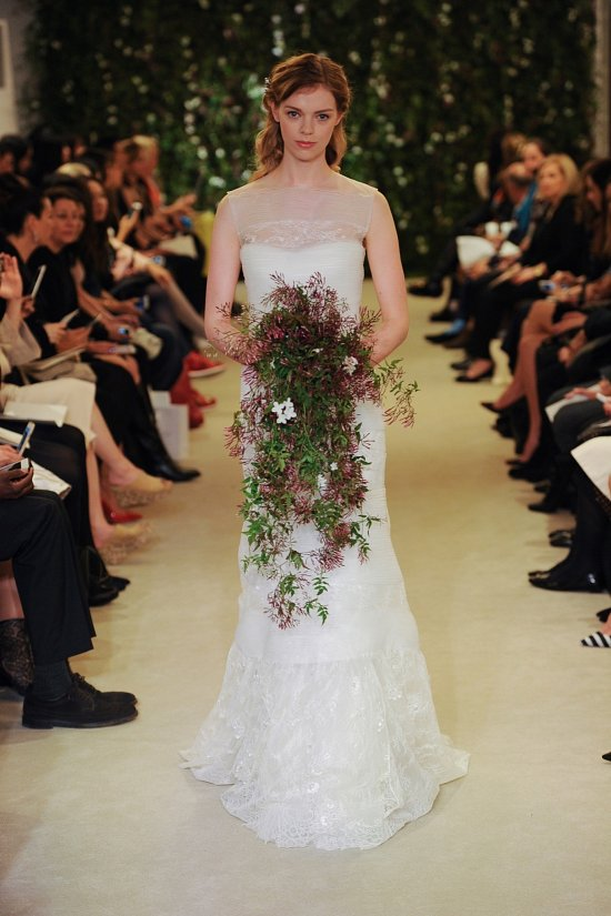 Коллекция свадебных платьев Carolina Herrera весна 2016 фото №14
