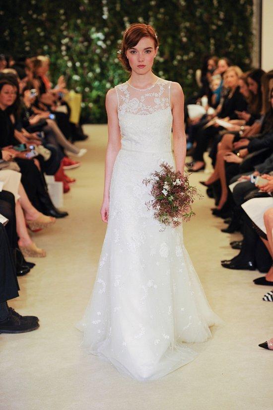 Коллекция свадебных платьев Carolina Herrera весна 2016 фото №16