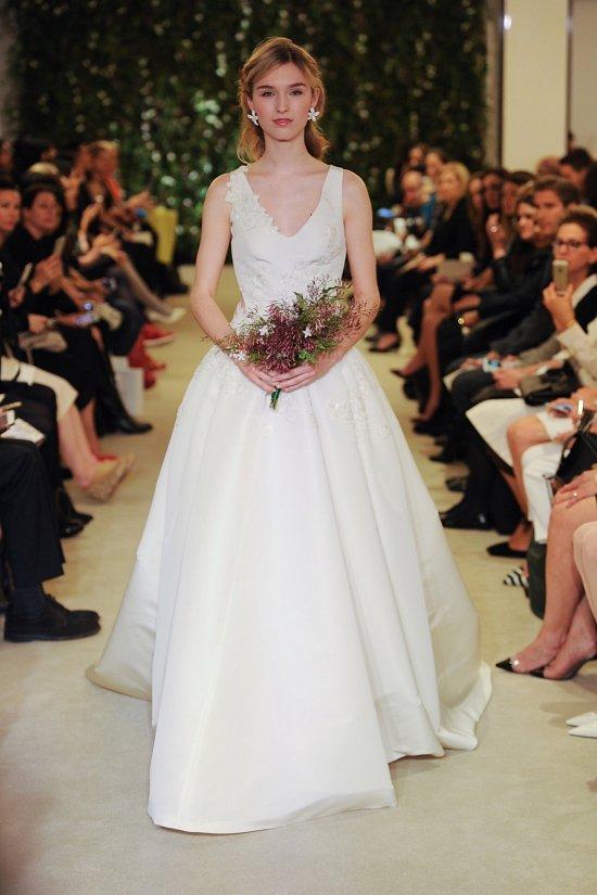 Коллекция свадебных платьев Carolina Herrera весна 2016 фото №17
