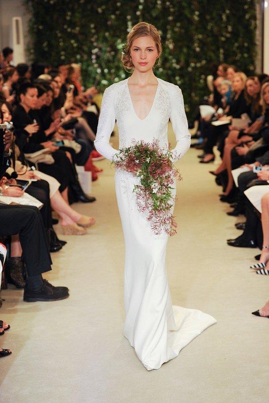 Коллекция свадебных платьев Carolina Herrera весна 2016 фото №18