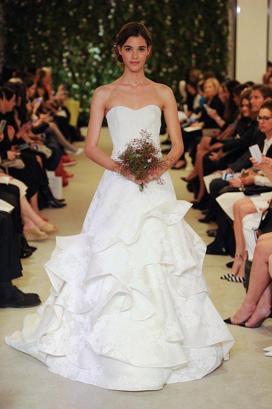 Коллекция свадебных платьев Carolina Herrera весна 2016 фото №19