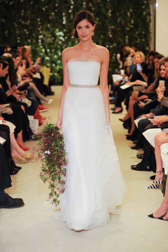 Коллекция свадебных платьев Carolina Herrera весна 2016 фото №20