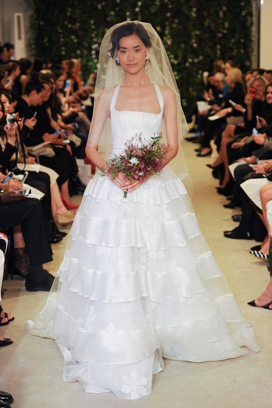 Коллекция свадебных платьев Carolina Herrera весна 2016 фото №21