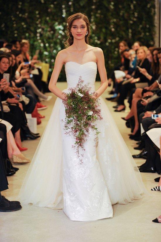 Коллекция свадебных платьев Carolina Herrera весна 2016 фото №22