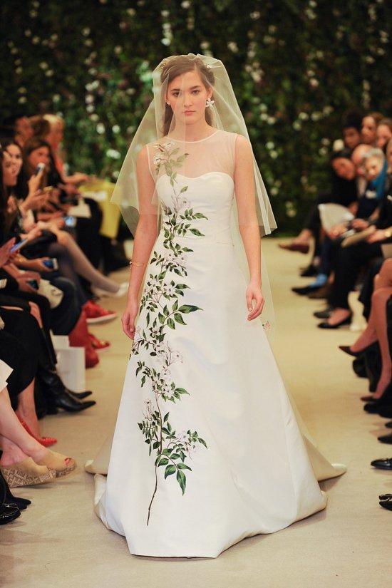 Коллекция свадебных платьев Carolina Herrera весна 2016 фото №23