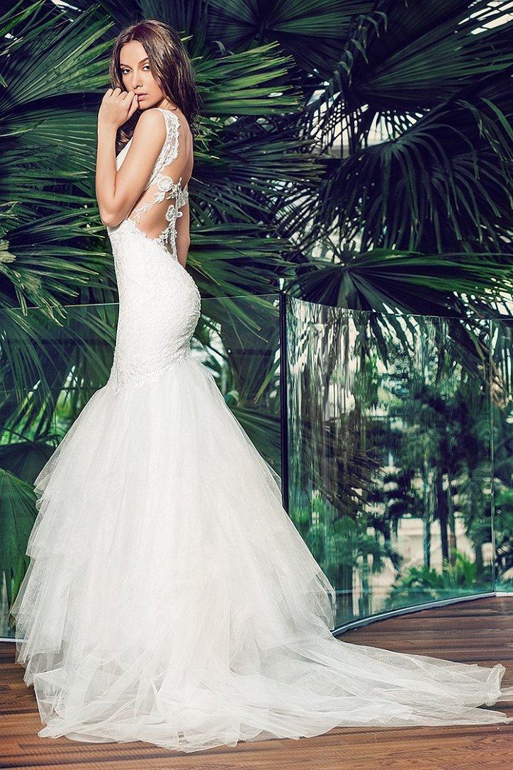 Коллекция свадебных платьев Cristallini 2016 фото №17