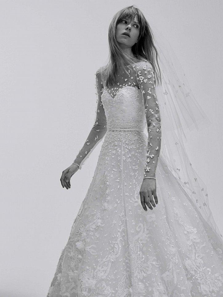 Коллекция свадебных платьев Elie Saab весна 2017