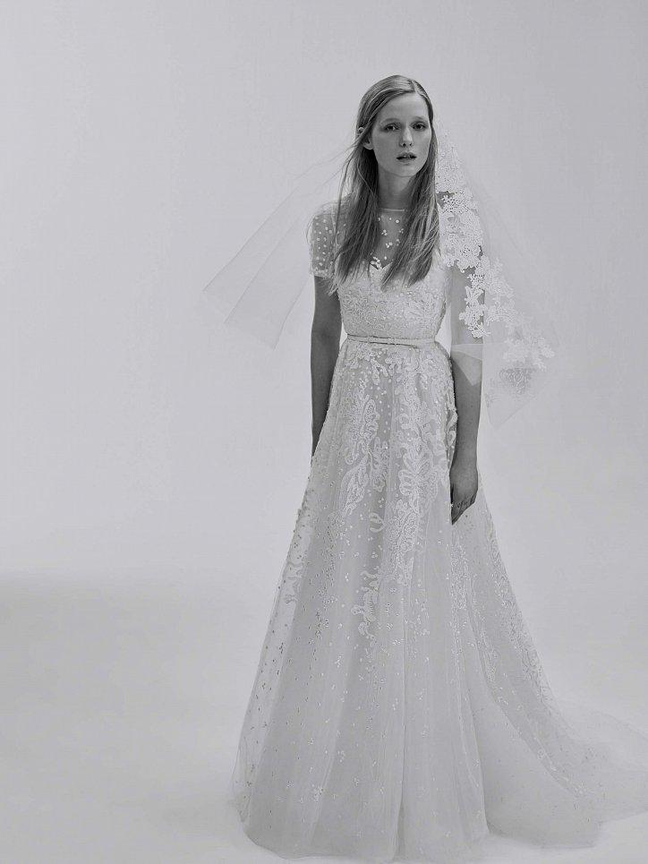 Коллекция свадебных платьев Elie Saab весна 2017 фото №9
