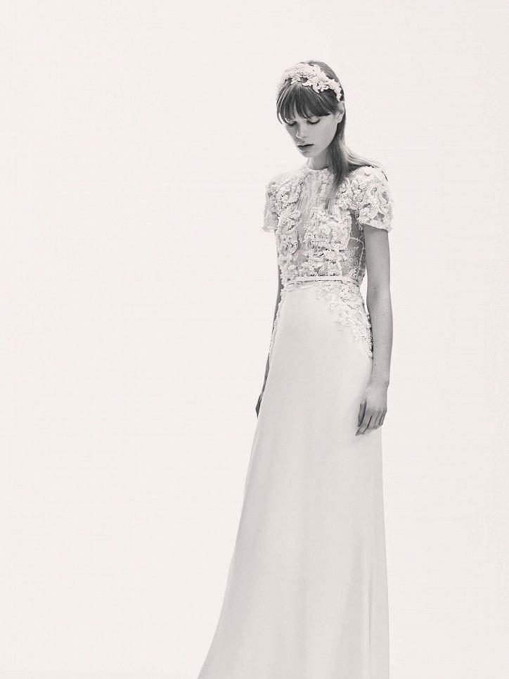 Коллекция свадебных платьев Elie Saab весна 2017 фото №10