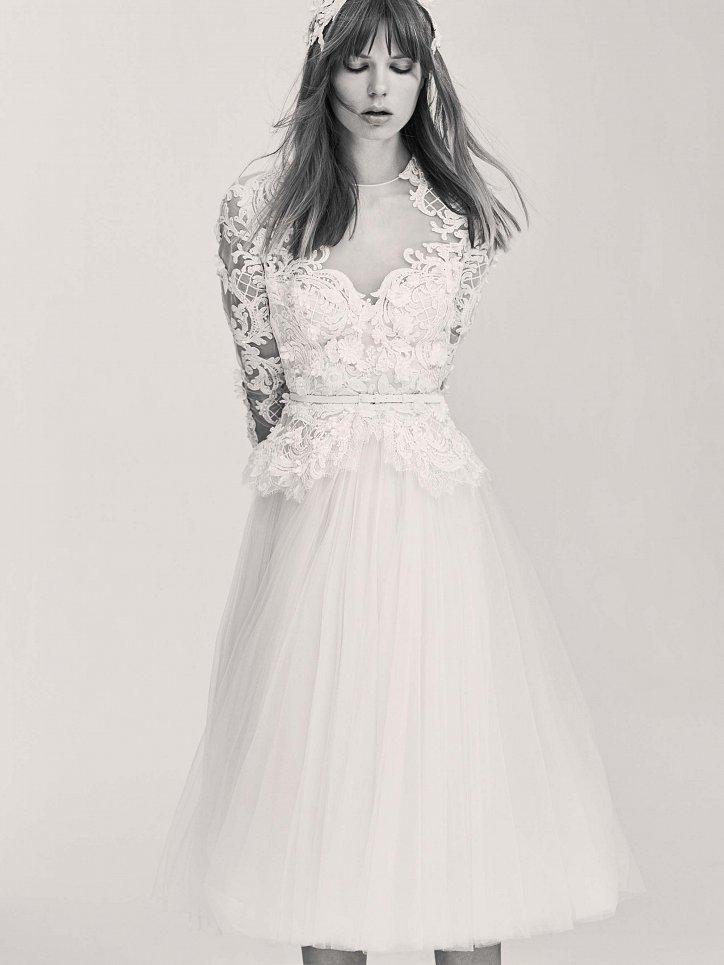 Коллекция свадебных платьев Elie Saab весна 2017 фото №14