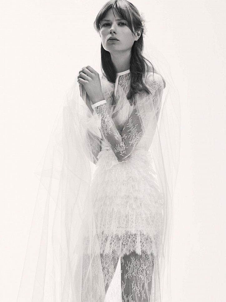 Коллекция свадебных платьев Elie Saab весна 2017 фото №16