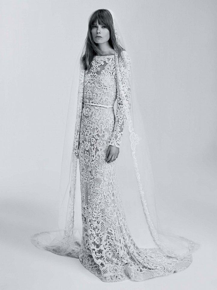 Коллекция свадебных платьев Elie Saab весна 2017 фото №17