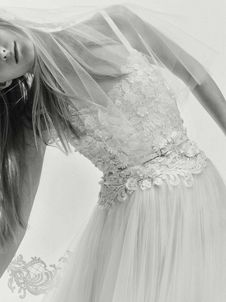 Коллекция свадебных платьев Elie Saab весна 2017 фото №18