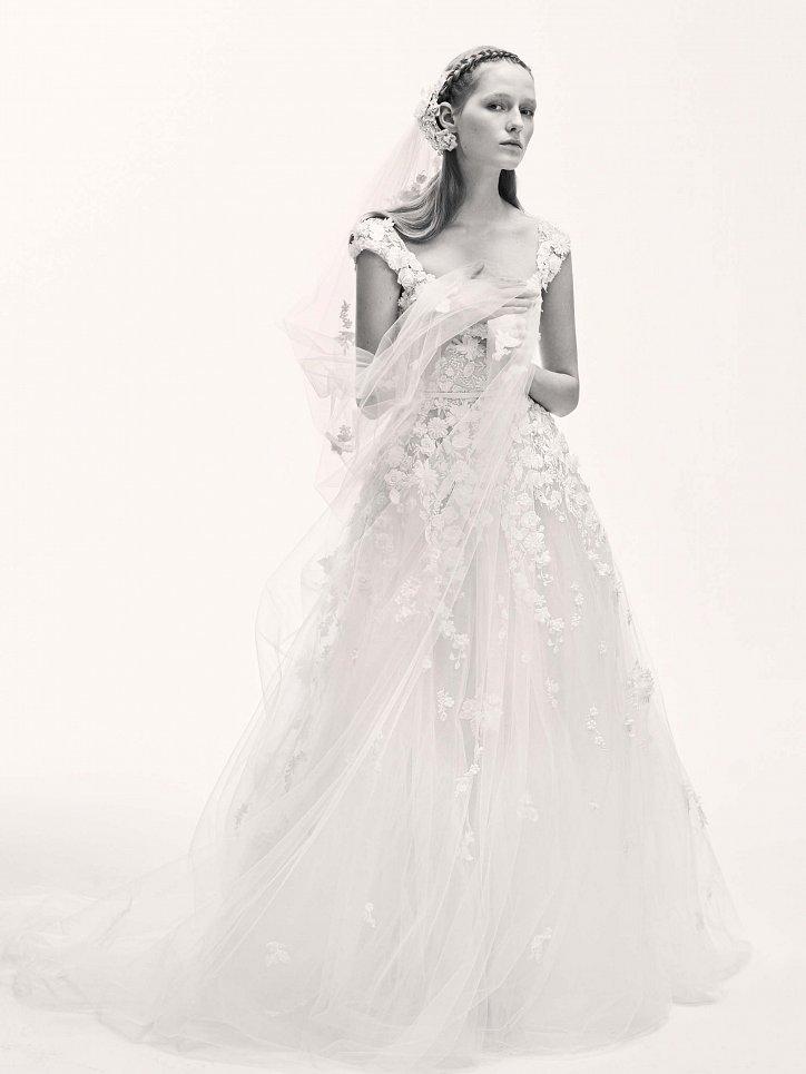 Коллекция свадебных платьев Elie Saab весна 2017 фото №20
