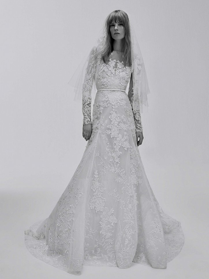 Коллекция свадебных платьев Elie Saab весна 2017 фото №21