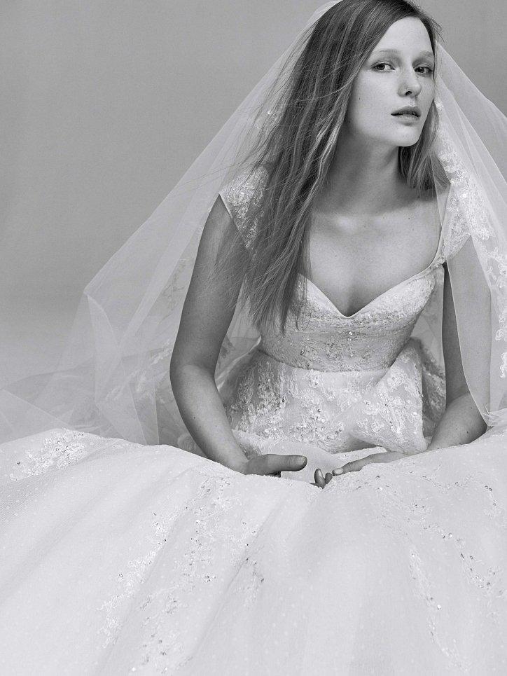 Коллекция свадебных платьев Elie Saab весна 2017 фото №25