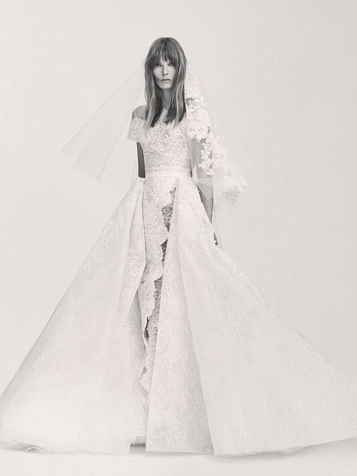 Коллекция свадебных платьев Elie Saab весна 2017 фото №26