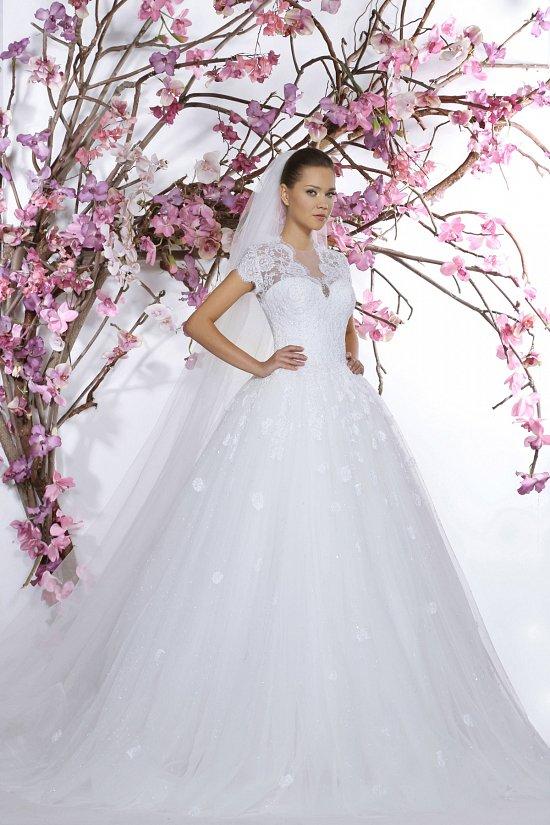 Коллекция свадебных платьев Georges Hobeika 2015 фото №5