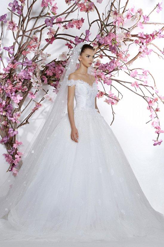 Коллекция свадебных платьев Georges Hobeika 2015 фото №6