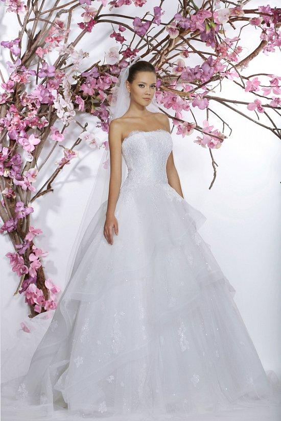 Коллекция свадебных платьев Georges Hobeika 2015 фото №7