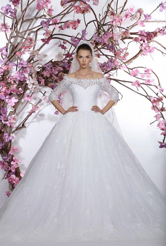 Коллекция свадебных платьев Georges Hobeika 2015 фото №10