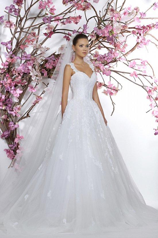 Коллекция свадебных платьев Georges Hobeika 2015 фото №11