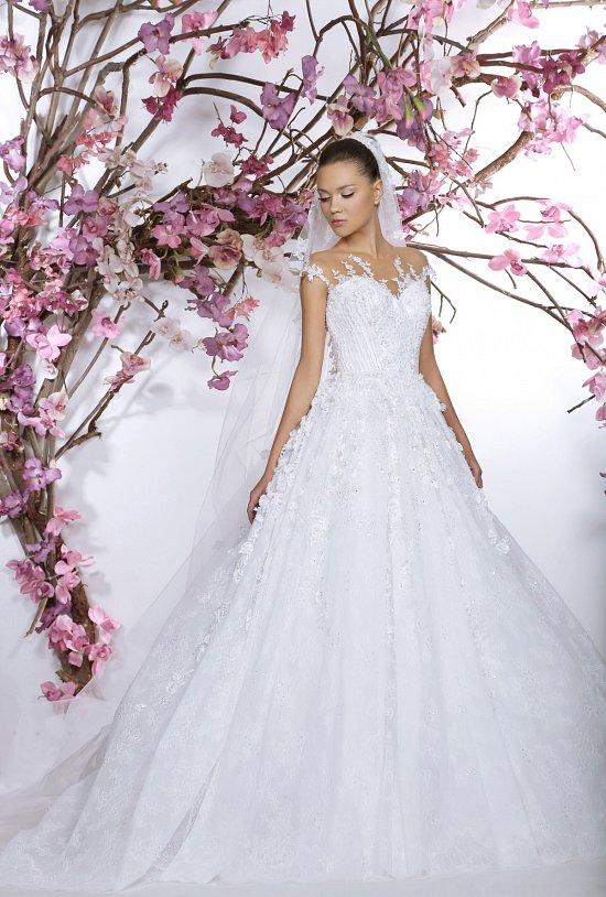 Коллекция свадебных платьев Georges Hobeika 2015 фото №15