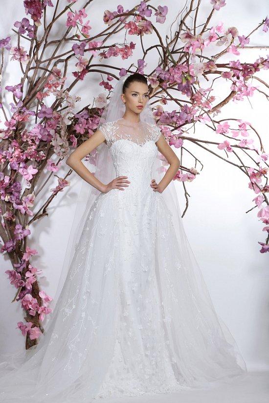 Коллекция свадебных платьев Georges Hobeika 2015 фото №16