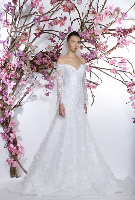 Коллекция свадебных платьев Georges Hobeika 2015 фото №18
