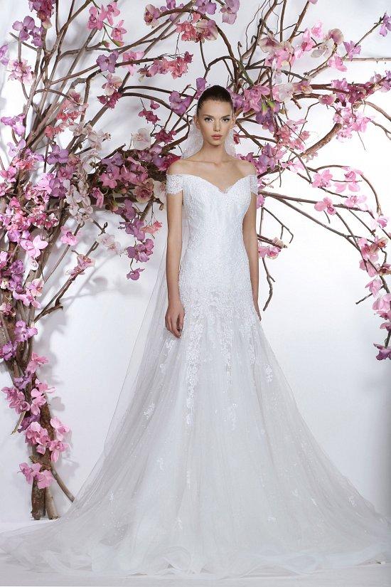Коллекция свадебных платьев Georges Hobeika 2015 фото №20