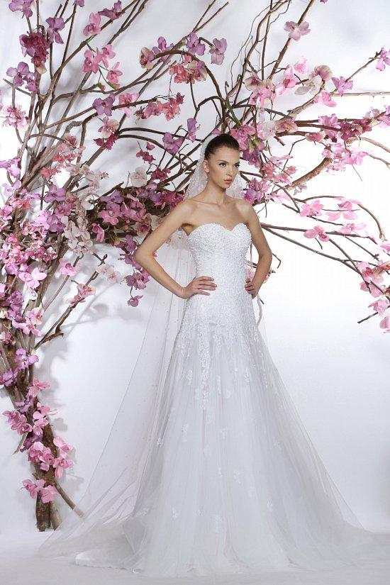 Коллекция свадебных платьев Georges Hobeika 2015 фото №22