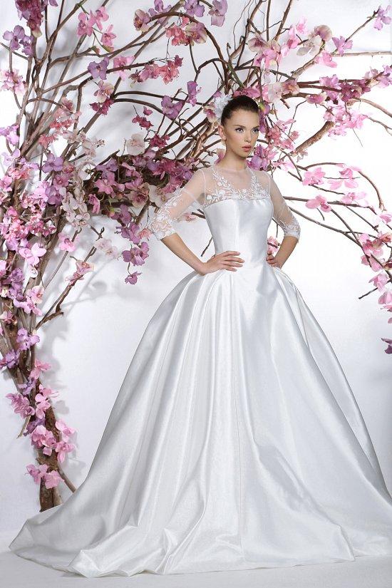 Коллекция свадебных платьев Georges Hobeika 2015 фото №23