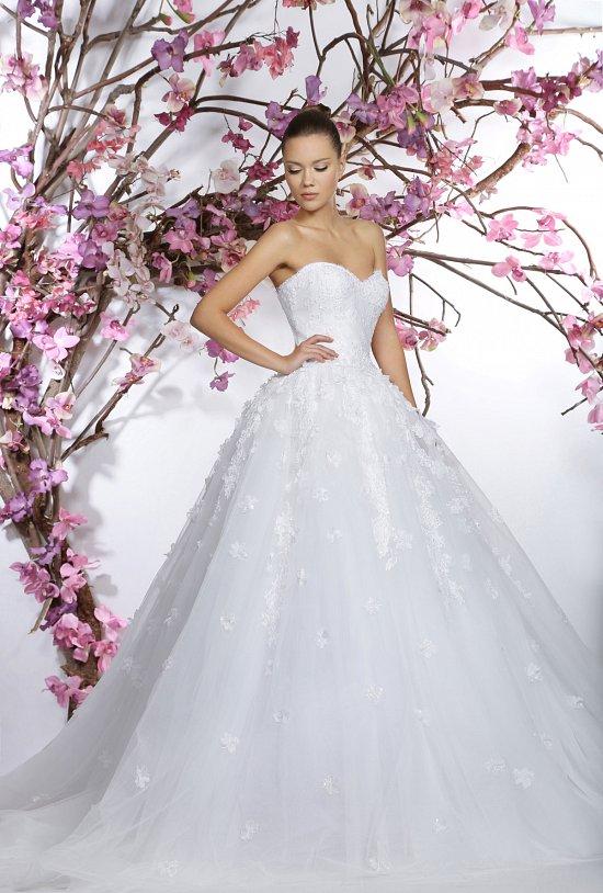Коллекция свадебных платьев Georges Hobeika 2015 фото №24