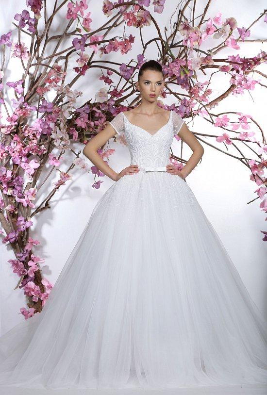 Коллекция свадебных платьев Georges Hobeika 2015 фото №25