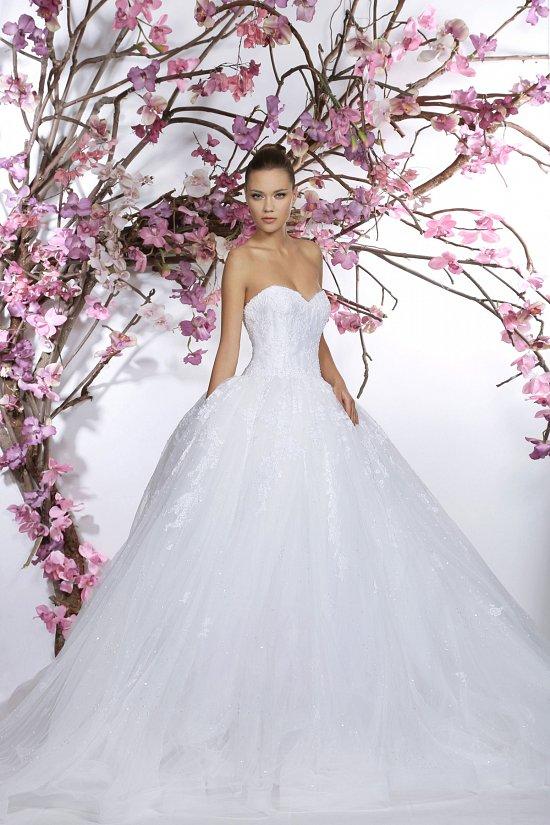 Коллекция свадебных платьев Georges Hobeika 2015 фото №26