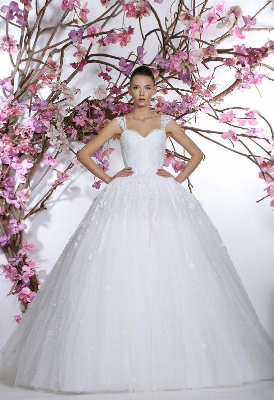 Коллекция свадебных платьев Georges Hobeika 2015 фото №27