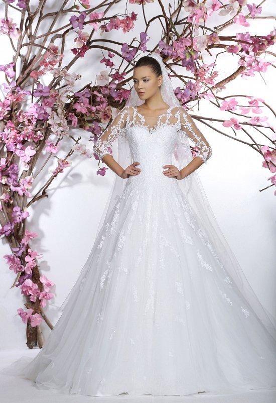 Коллекция свадебных платьев Georges Hobeika 2015 фото №28
