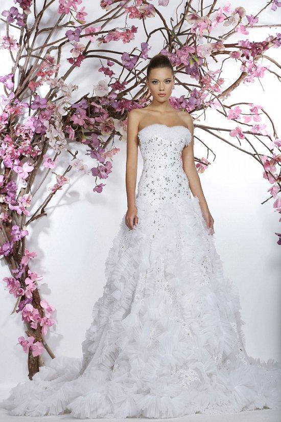 Коллекция свадебных платьев Georges Hobeika 2015 фото №30