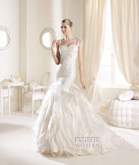 Коллекция свадебных платьев La Sposa 2014 фото №14