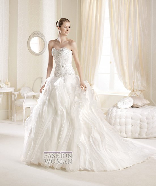 Коллекция свадебных платьев La Sposa 2014 фото №20