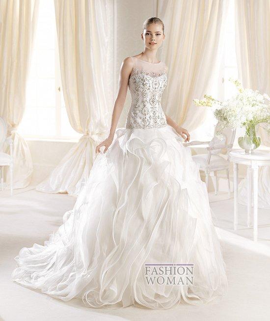 Коллекция свадебных платьев La Sposa 2014 фото №26