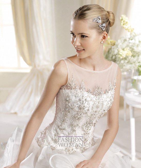 Коллекция свадебных платьев La Sposa 2014 фото №28