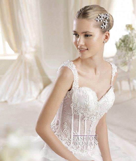 Коллекция свадебных платьев La Sposa 2014 фото №32