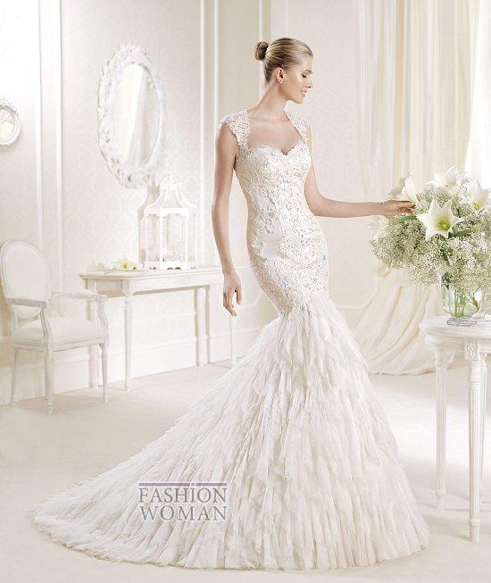 Коллекция свадебных платьев La Sposa 2014 фото №37