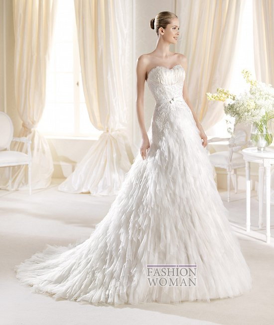 Коллекция свадебных платьев La Sposa 2014 фото №40