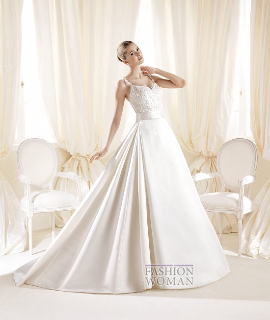 Коллекция свадебных платьев La Sposa 2014 фото №73