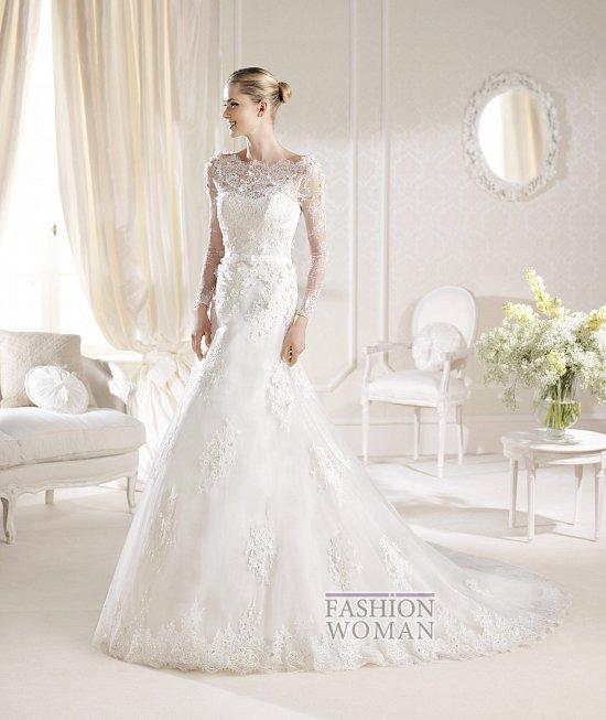Коллекция свадебных платьев La Sposa 2014 фото №96