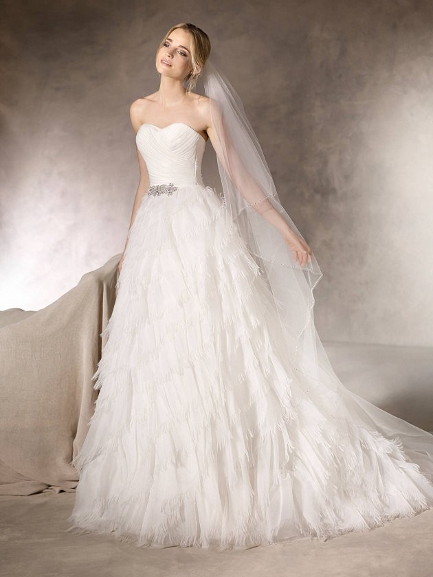 Коллекция свадебных платьев La Sposa 2017 фото №44