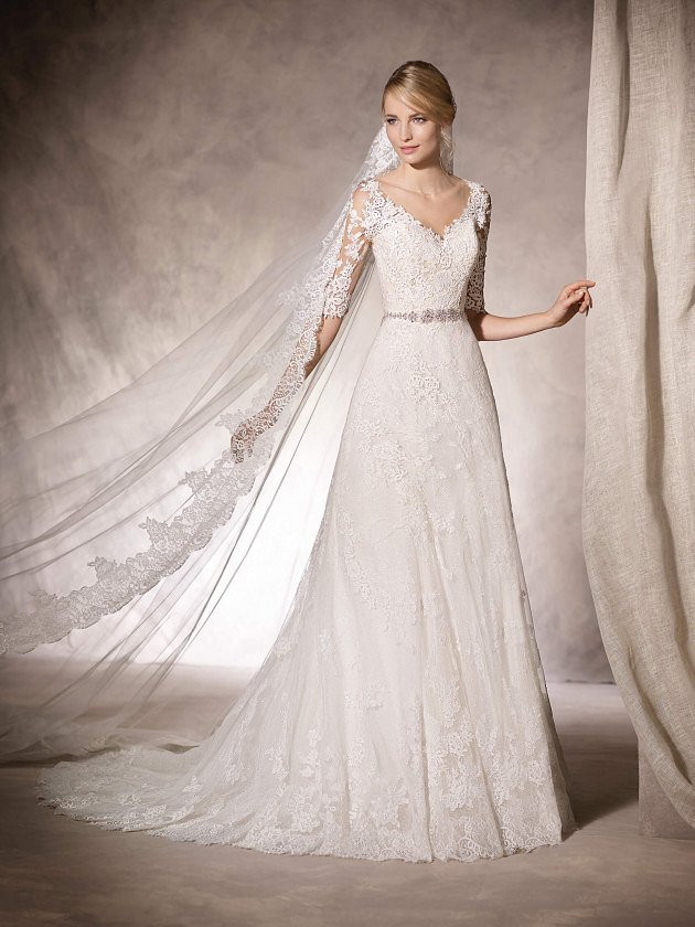 Коллекция свадебных платьев La Sposa 2017 фото №72