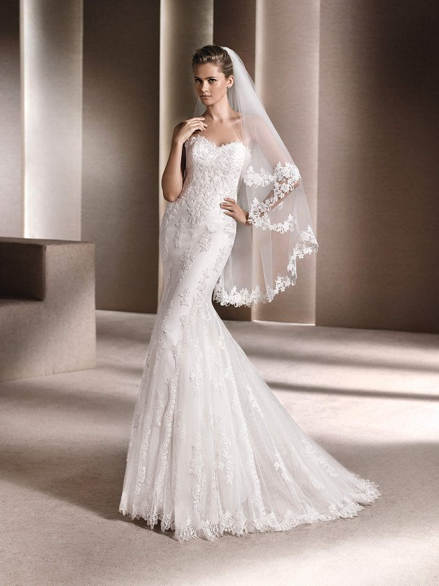 Коллекция свадебных платьев La Sposa 2017 фото №81